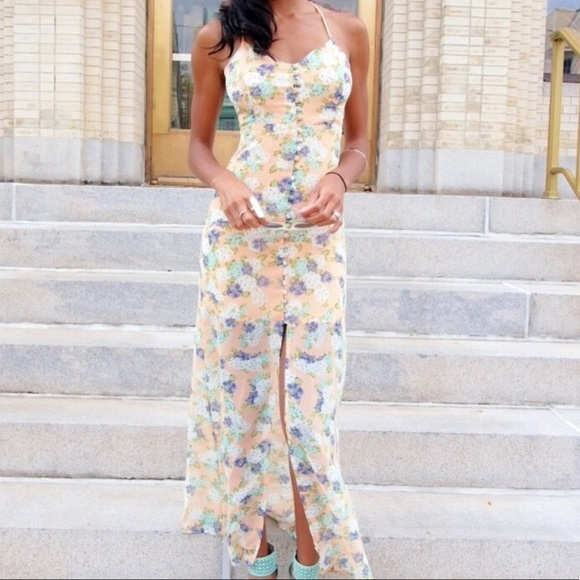 Urban Outfitters Dresses & Skirts - Love Sadie mint chiffon maxi dress